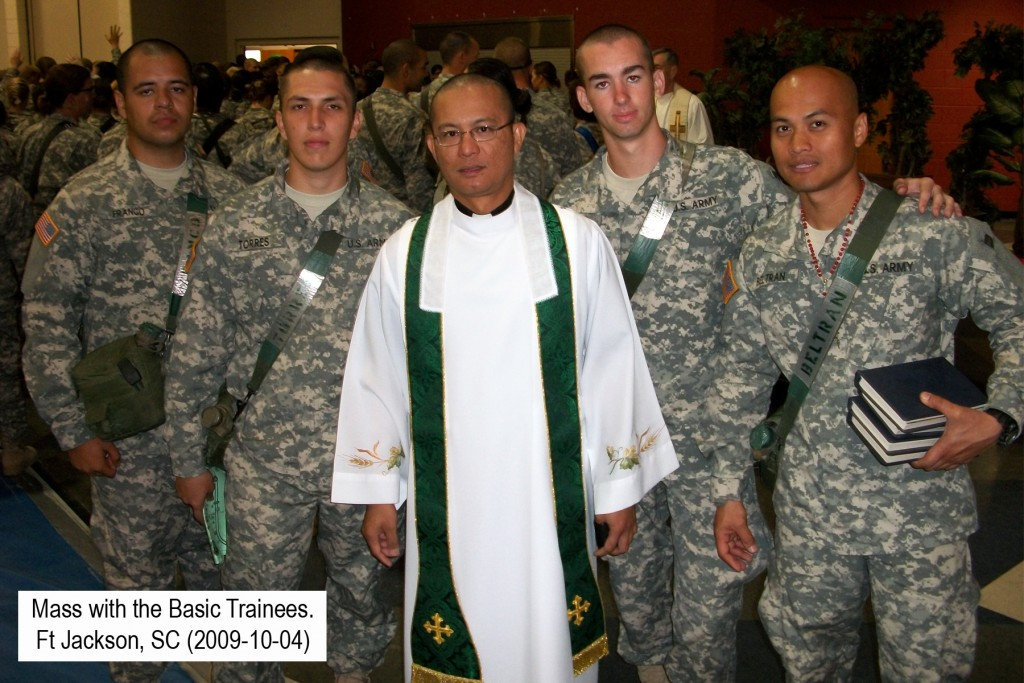 Mass with Basic Trainees